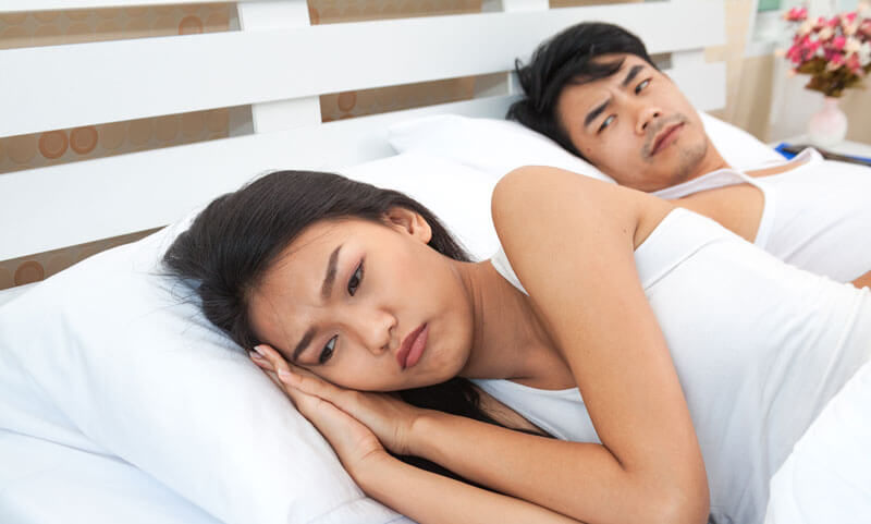 Libido difference in couples